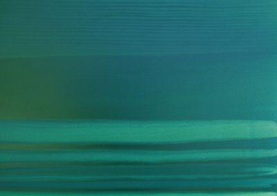 Paysage traversé glycéro sur toile 100x100 (2)